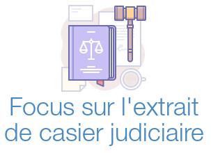 aide extrait casier judiciaire