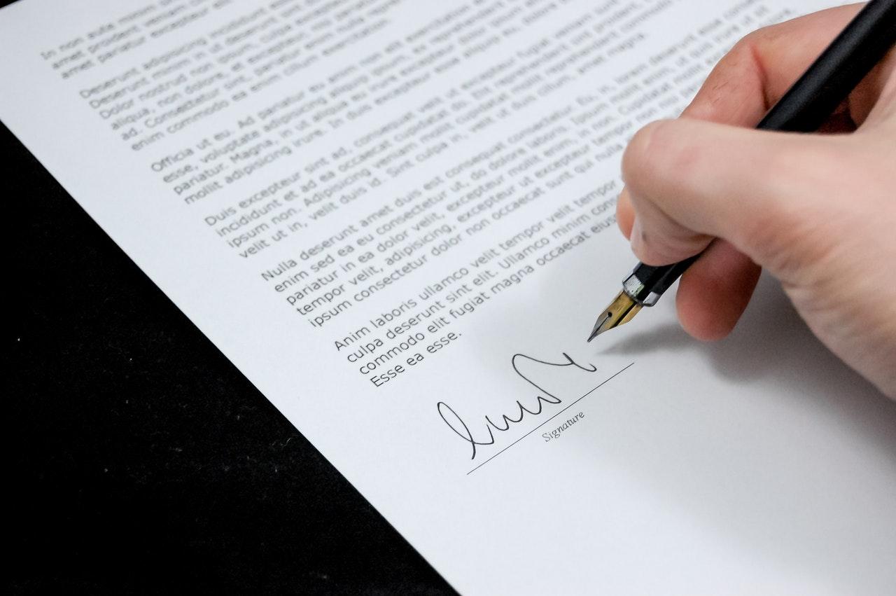 rédiger une lettre de démission